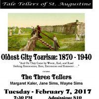 """""""Oldest City Tourism: 1870 - 1940"""""""