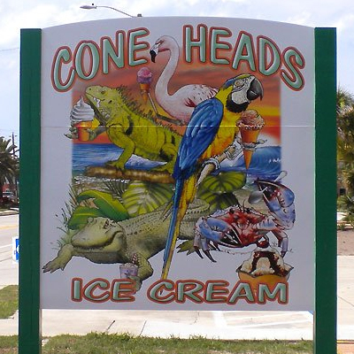 Cone Heads Ice Cream