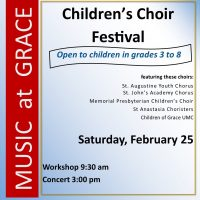 Children's Choir Festival: Workshop & Concert