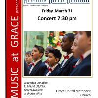 Newark Boys Chorus in Concert