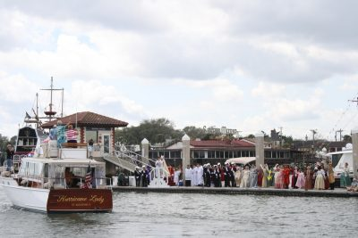 St augustine easter week festival blessing of the fleet for St augustine arts and crafts festival 2017