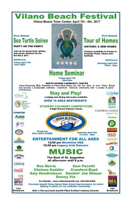 Vilano Beach Festival Tour of Homes
