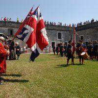 Change of Flags at Castillo de San Marcos