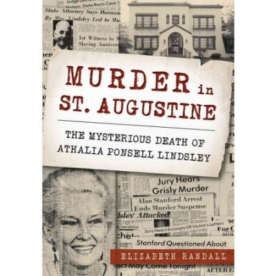 "Literary Lions Book Club - Author Elizabeth Randall Presents ""Murder in St. Augustine"""