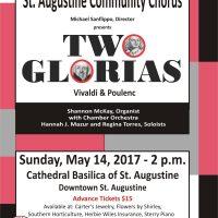 SACC Presents: Two Glorias - Vivaldi & Poulenc Masterworks 2017