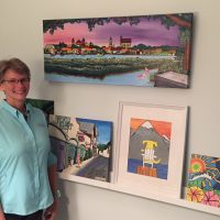 The Art Studio Presents: Jill Hawk, Featured Artist For The Month Of May