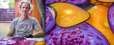Thomas Long - Blown Glass Wall Art