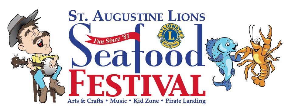 St augustine lions seafood festival presented by st for St augustine arts and crafts festival 2017