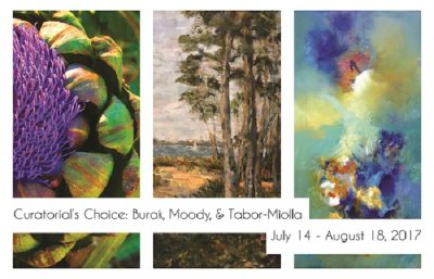 Curatorial's Choice: Burak, Moody, & Tabor-Miolla