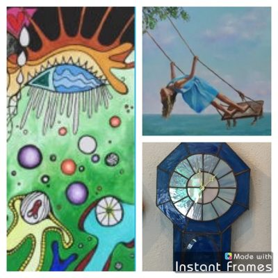 """Featured Theme for Art Walk at P.A.St.A. is """"Blue"""""""
