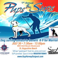 PUPS & SUPS SURFING CONTEST