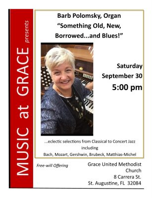 Organ Recital - Music at Grace