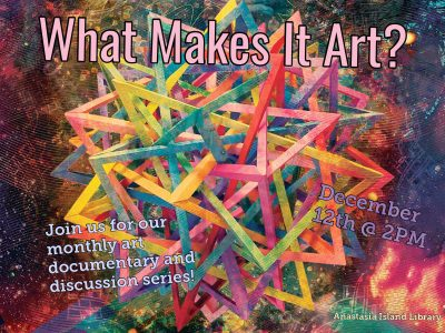 What Makes It Art?