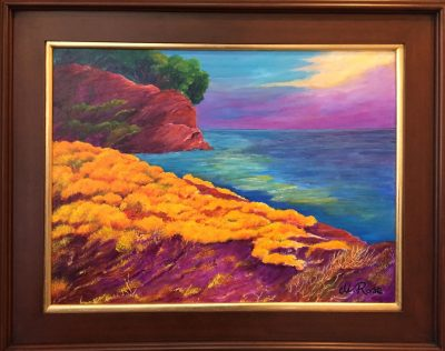 Maria Rosa Johnson-Sintes is Featured Artist at P....