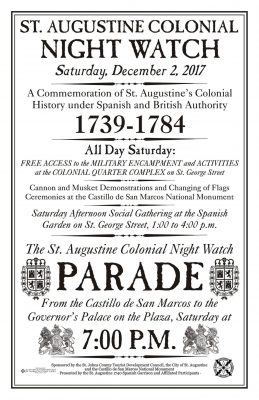 Saint Augustine Colonial Night Watch