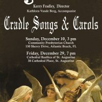 The North Florida Women's Chorale presents Cradle Songs and Carols