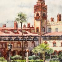 2nd Annual St. Augustine Plein Air Paint Out