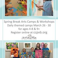 Spring Break Arts Camps and Workshops