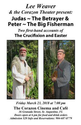 Easter / Lenten Special Judas and Peter!