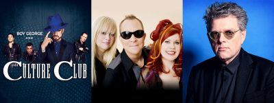 Boy George and Culture Club with The B-52s and spe...