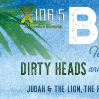 X106.5's BBQ ft. Dirty Heads and AWOLNATION w/ guests Judah & The Lion, The Front Bottoms and AJR