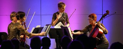 Susan Pardue with the Florida Chamber Music Project