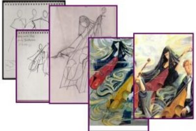 Principles of Painting Design with Susanne Schuenke, Ph.D.