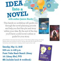 Turn Your Idea Into A Novel with Janice Hardy