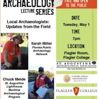 St Augustine Archaeological Association Meeting / Lecture