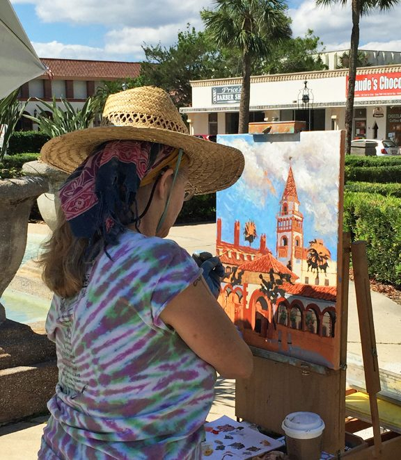 Plein Air Paint Out Quick Draw Presented By St Augustine