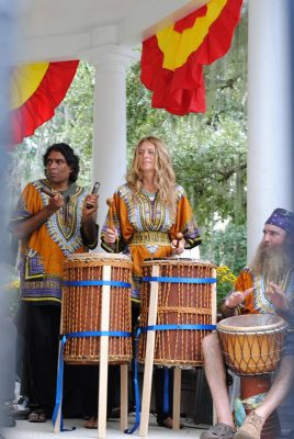 West African Drum Circles Of Saint Augustine