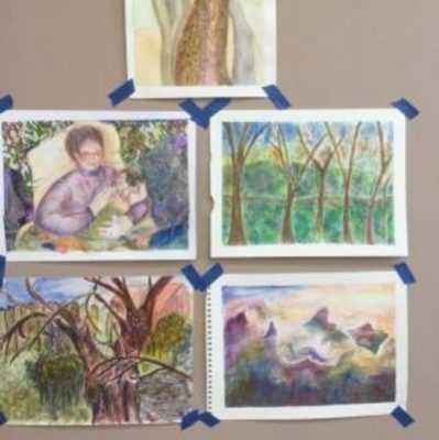 Watercolor Painting with Six Tubes with Elaine Ber...