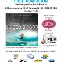 Legendary surfer and opioid addiction: film and event