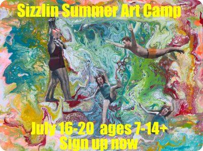 Sizzlin Summer Art Camp