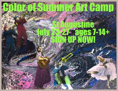 Color of Summer ART Camp