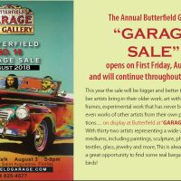 Butterfield Garage Sale