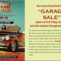 Butterfield Garage Sale