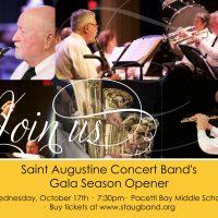 Saint Augustine Concert Band's Gala Season Opener Concert