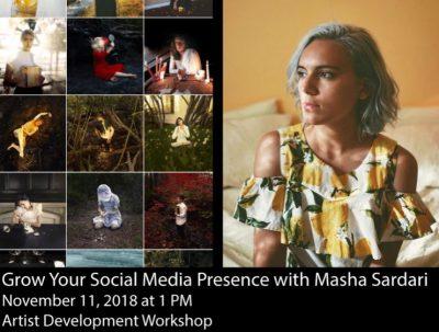 Grow Your Social Media Presence with Masha Sardari