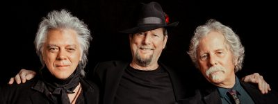 Roger McGuinn and Chris Hillman with Marty Stuart ...