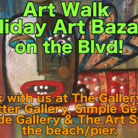 Art Walk - Holiday Art Bazaar