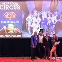 Venardos Circus on grounds of St. Augustine Amphitheatre, December 19, 2018-January 27, 2019