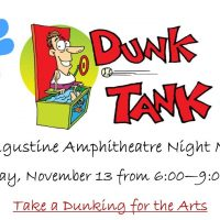 Dunk Tank for the Arts