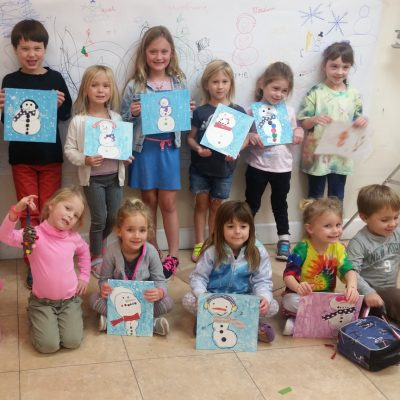 Holiday Break Art Camps for Kids