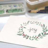 Watercolor Workshop with Lemonlark Paperie