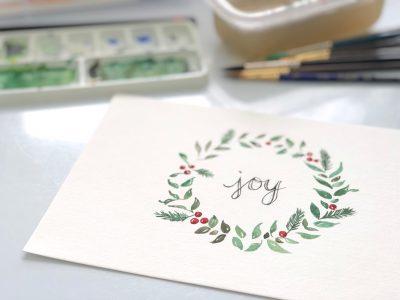 Watercolor Workshop with Lemonlark Paperie