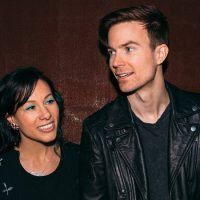 Matt and Kim with guest Yuno