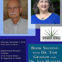 Book Signing by Dr. Ann Masters and Dr. Tom Graham