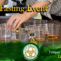 Celtic Whiskey Tasting