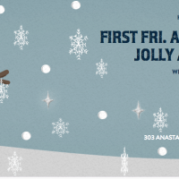 FIRST FRI. ART WALK ~ HOLLY JOLLY ART SALE 10% OFF